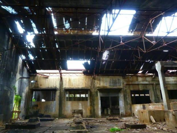 Abandoned Pepsi Factory Cambodia Battambang