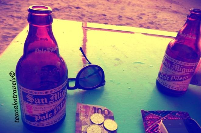 El Nido Cheap Beach Beer