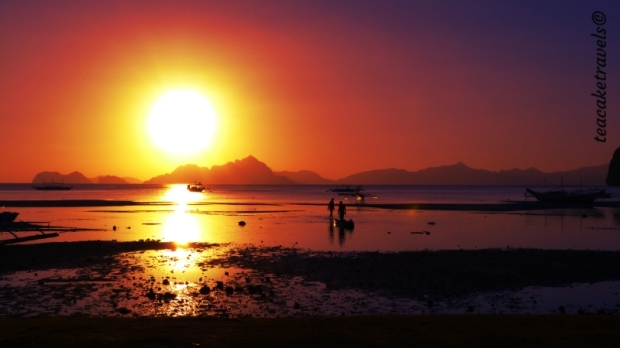 El nido sunset Corong Corong Beach
