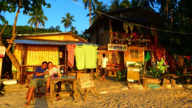 El nido sunset spot Corong Corong Beach